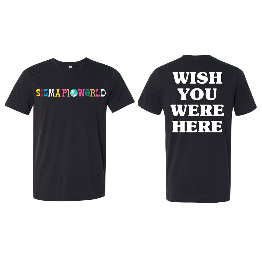 World Tee <br> (available for multiple fraternities!)
