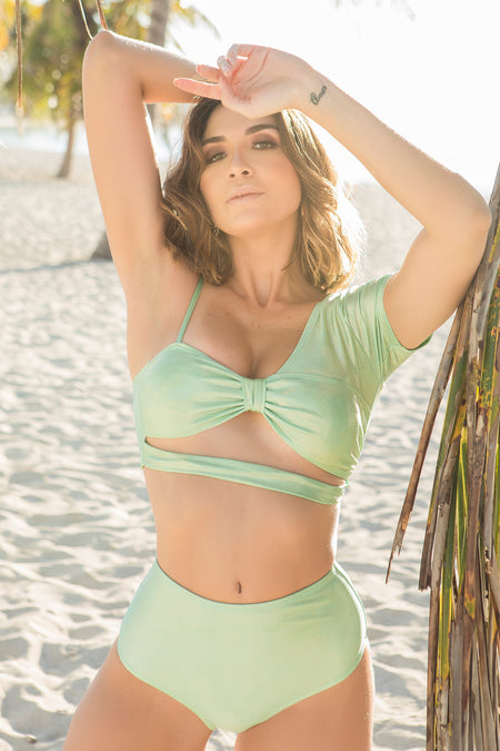 Paola green top