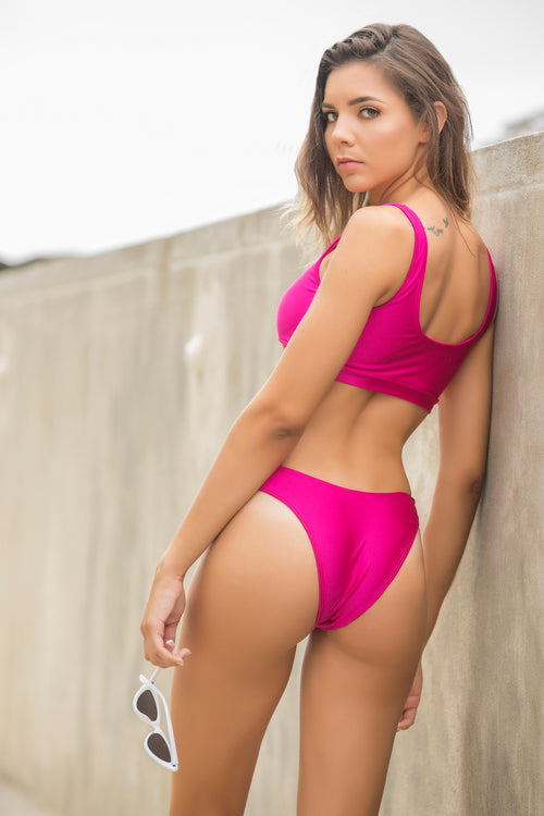 Pink Hightcut Bottom