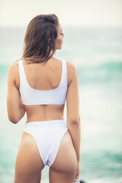 White Hightcut Bottom