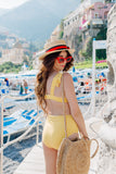 Vichy Yellow Top