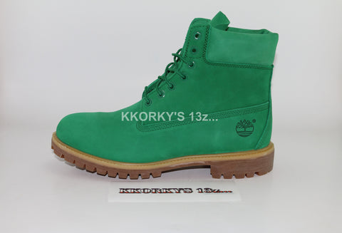 TIMBERLAND x VILLA  Emerald Green Premium 6in Boots (Was available only in the US)