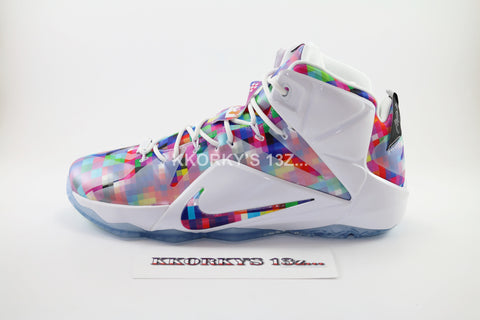 NIKE LEBRON XII EXT  (Prism/Finish your Breakfast) (Below Retail)