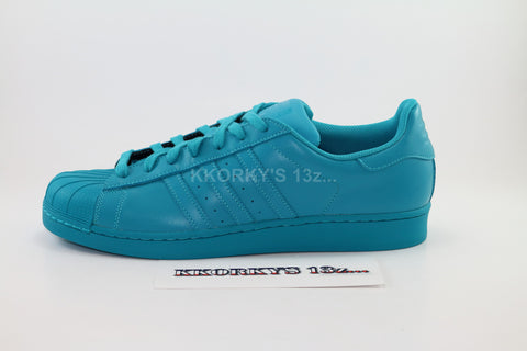 ADIDAS SUPERSTAR SUPER COLOR PACK. Pharrell Williams (less than retail)