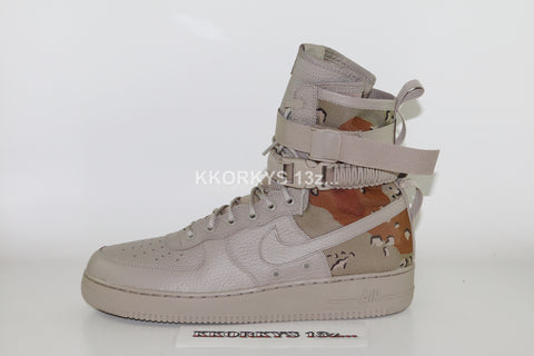 NIKE SF Air Force 1 Desert Camo