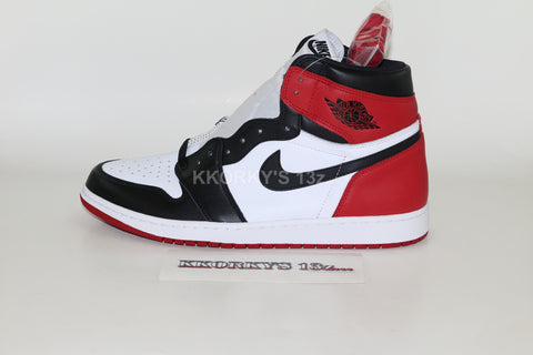 NIKE AIR JORDAN 1 RETRO HIGH- 'Black-Toe'