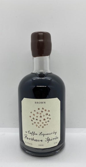 Forthave Spirits, BROWN Coffee Liqueur (375ml)