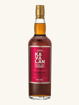 Kavalan Sherry Oak Whiskey 750ml