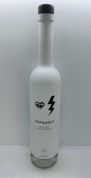 Gem & Bolt Mezcal With Damiana (750ml)