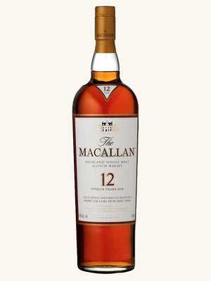 Macallan Highland Single Malt Whisky 12 Years 750ml