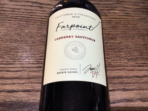 "Farpoint - ""Craftsman's Collection"" Central Valley Cabernet Sauvignon 2018 (750ml)"