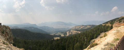 Chief Joseph Highway to Beartooth Pass | Red Lodge Motorcycle Rally