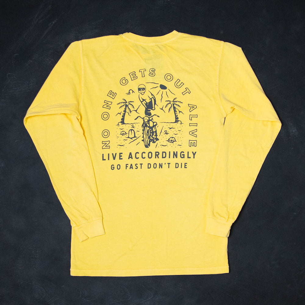 Life's A Beach Long Sleeve Tee