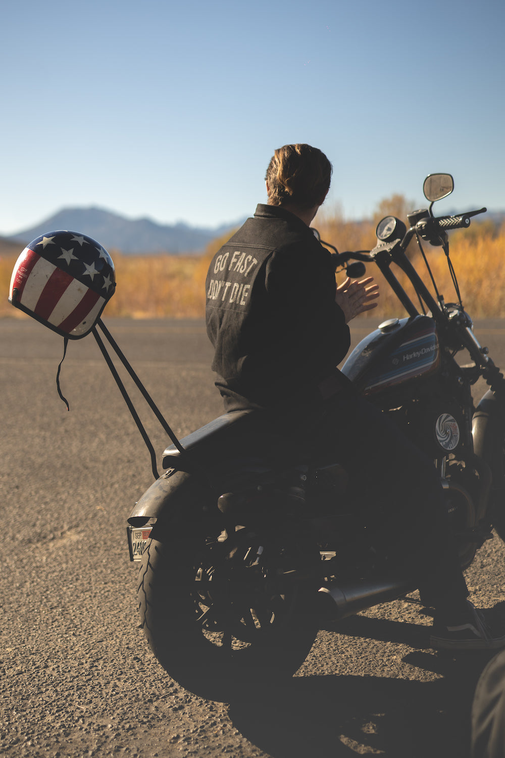 GFDD X Tobacco Motorwear California Riding Shirt - Carbon Canvas