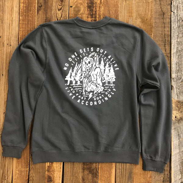 Sooner Than You Think Crew Neck