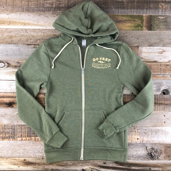 Free and Easy Hoodie Green