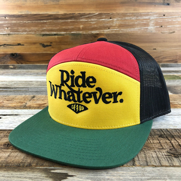 Ride Whatever 7-Panel Hat