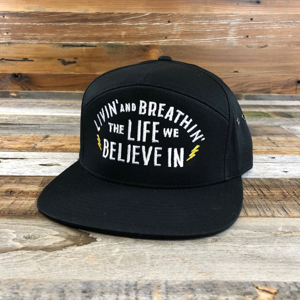 Livin' and Breathin' 7 Panel Hat