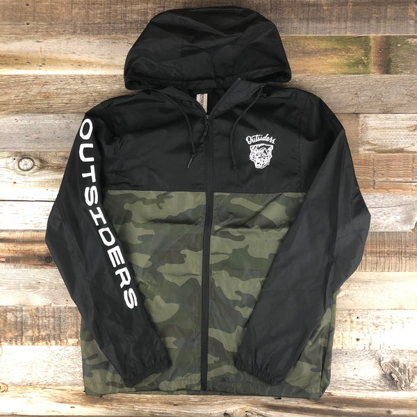 Outsiders Tiger Jacket - Black/Camo