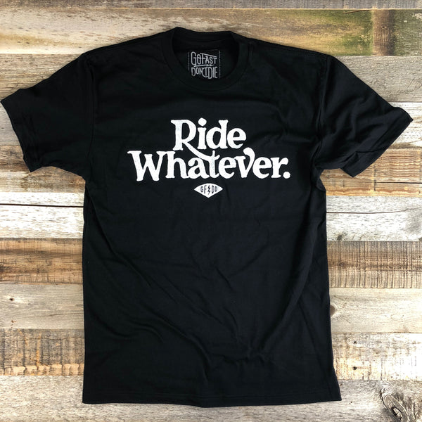 Ride Whatever Outsiders Tee- Black