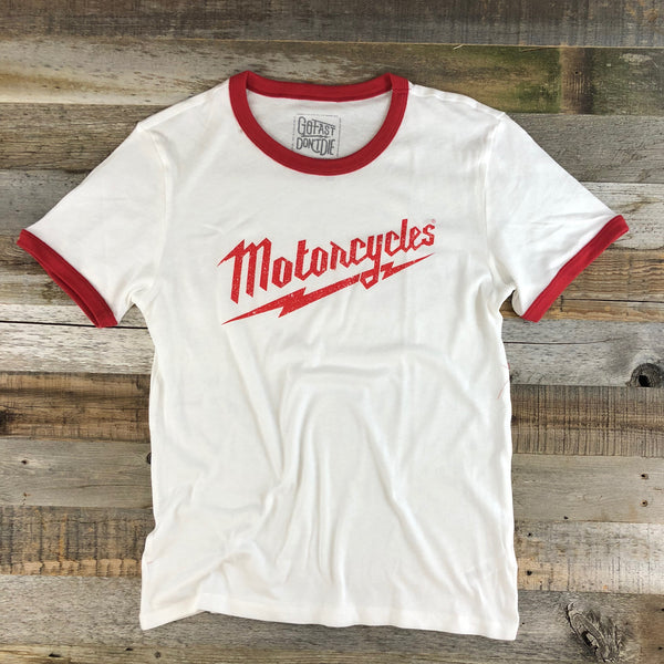 Motorcycles Ringer Tee