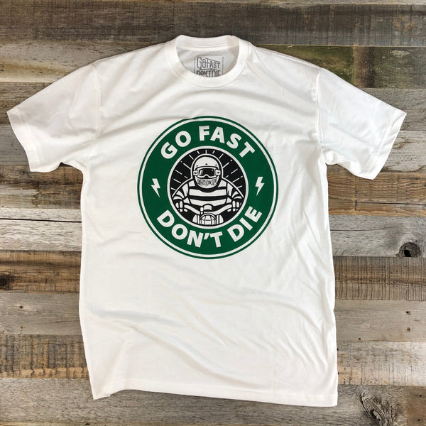 Not ⭐️bucks GFDD Tee - White