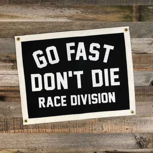 Race Division Camp Flag