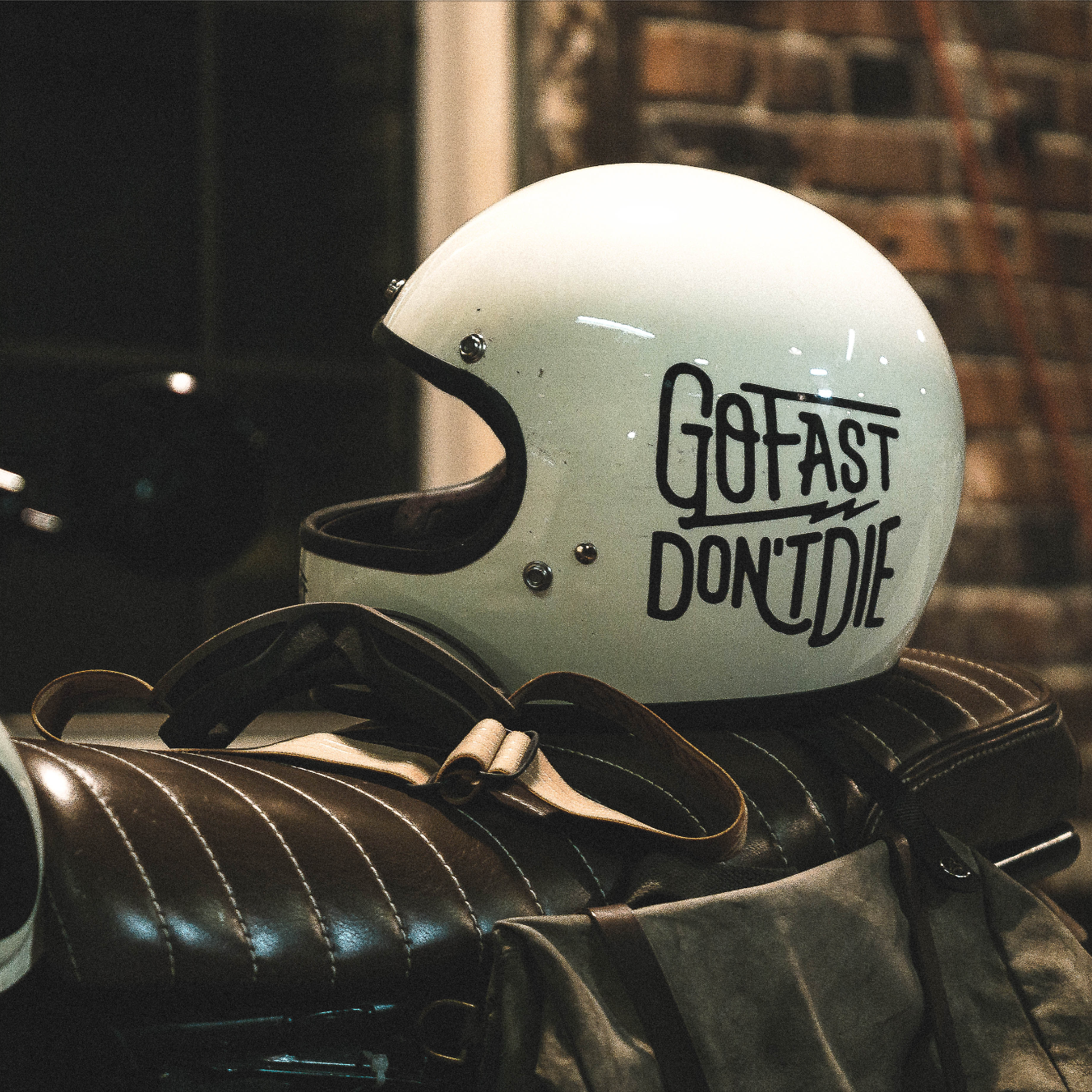 Go Fast Don't Die | Motorcycle Decal Sticker Big