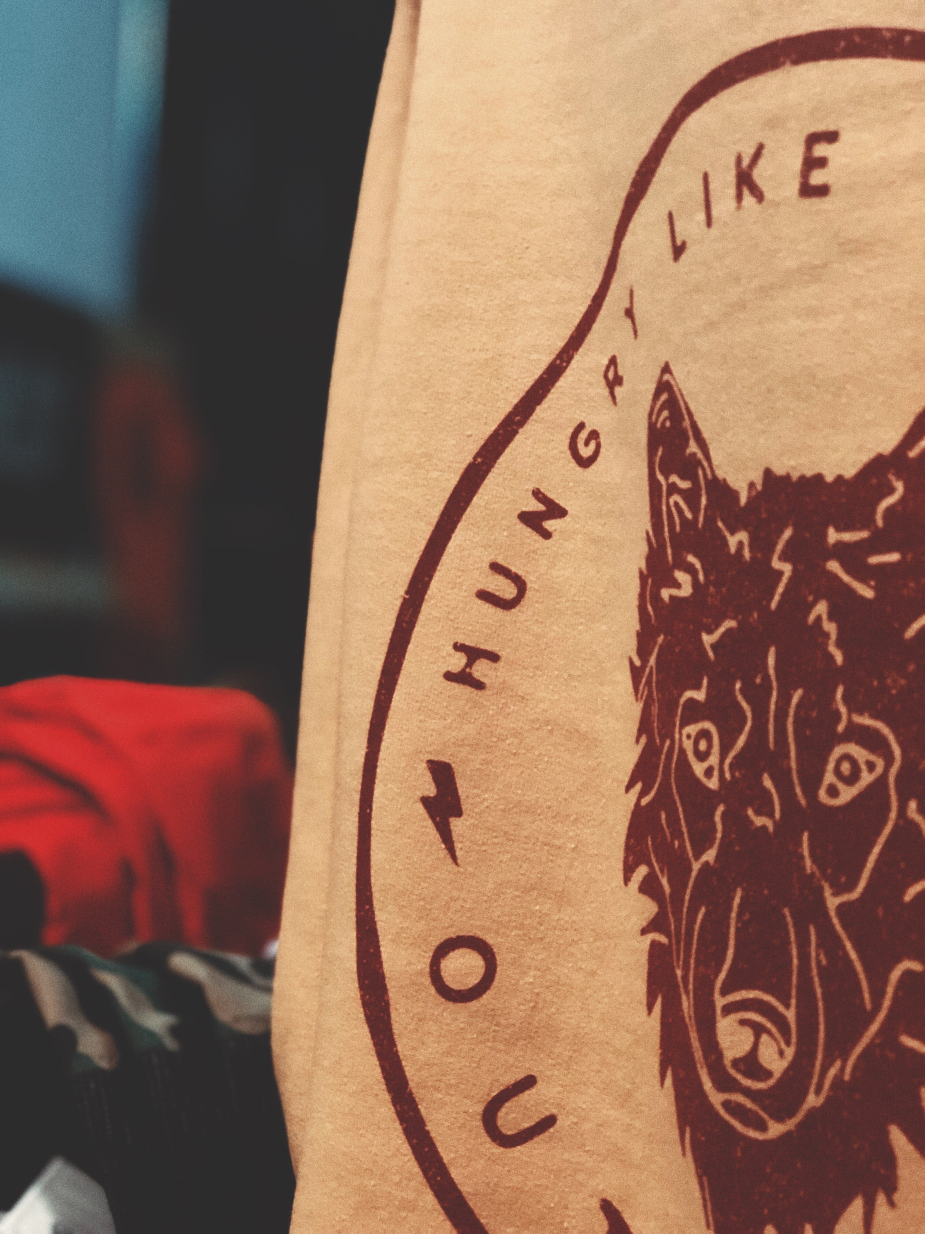 Hungry Like The Wolf Crewneck