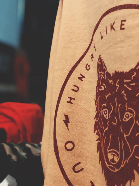 Spirit Animal Collection: The Wolf Crewneck