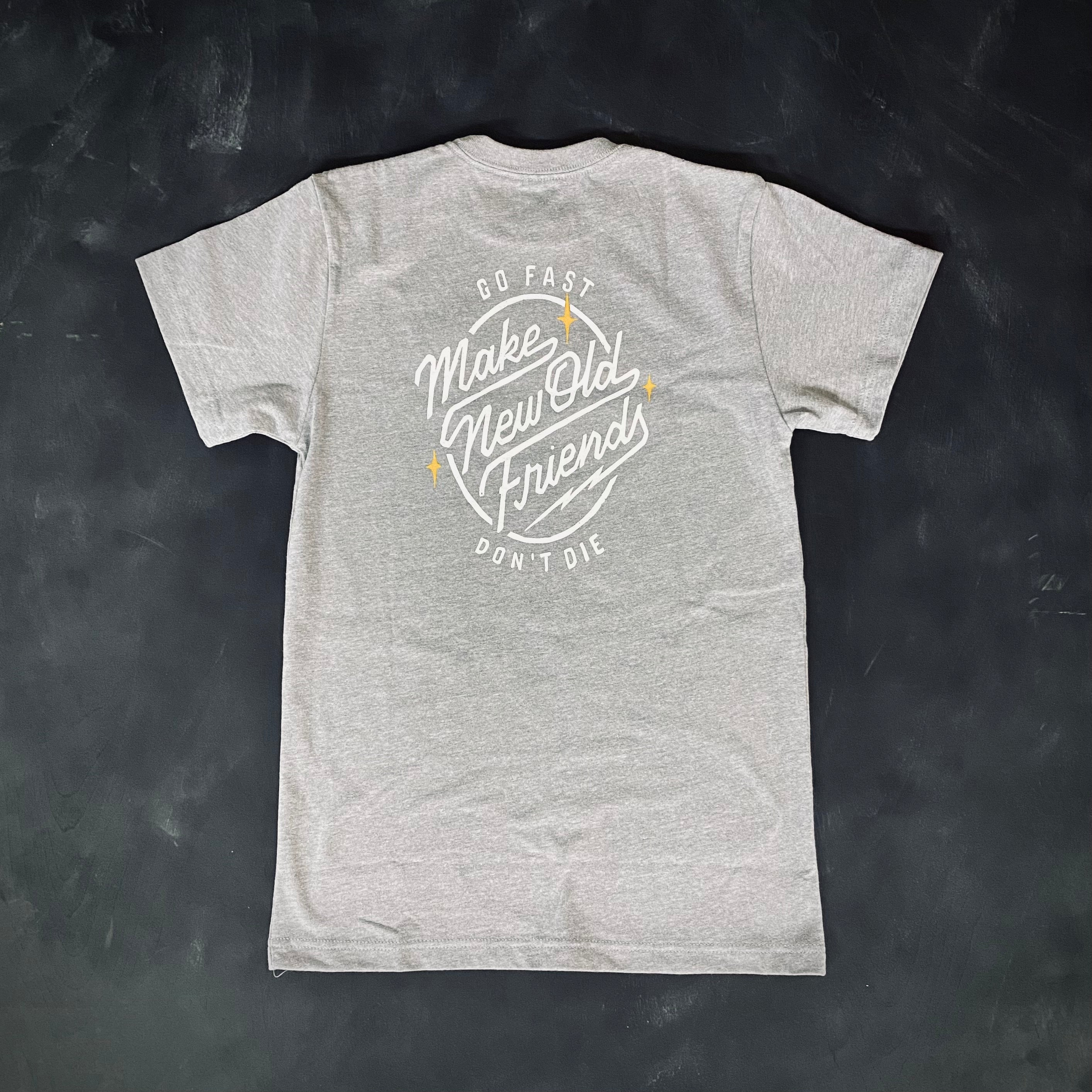 Make New Old Friends Women's Heavyweight Tee
