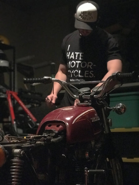 I Hate Motorcycles Tee