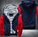 RED FLEECE JACKET (CUSTOMIZE)