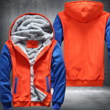 ORANGE FLEECE JACKET (CUSTOMIZE)