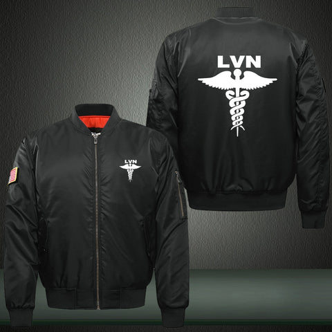 LVN Nurse Bomber Jacket