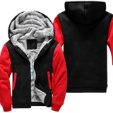 Red-Black Fleece Jacket