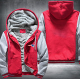 Red & White Fleece Jacket (CUSTOMIZE)