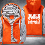 Black Jeep Fleece Jacket