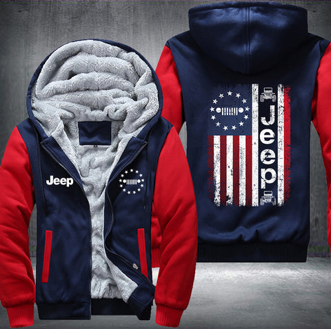 Jeep Flag Fleece Jacket