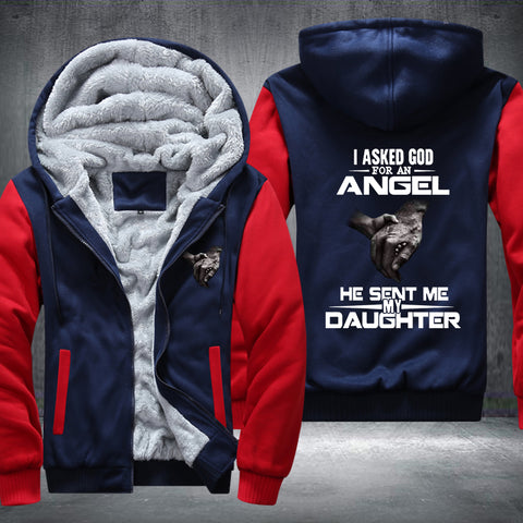 Angel Daughter Fleece Jacket