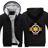 Firefighter EMT Fleece Hoodie