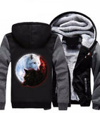 Fire Ice wolves Hoodie