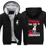 Pawtected By CHIHUAH Hoodies