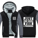 Just One More Fish Hoodie