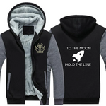 To The Moon Fleece Jacket