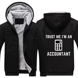 Trust Me Accountant Fleece Hoodie