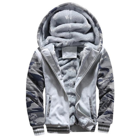 Light Camo Fleece Jacket