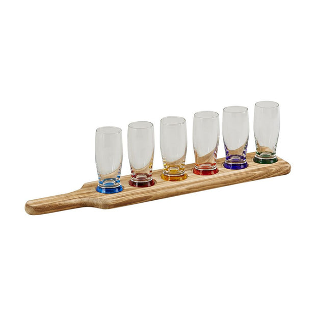 Personalized Tasting Flight Gift Set, 6 pieces - The National Memo