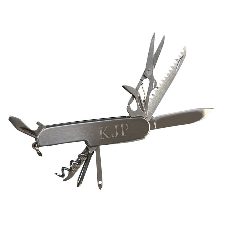 Personalized Pocket Knife, 9 tools - The National Memo