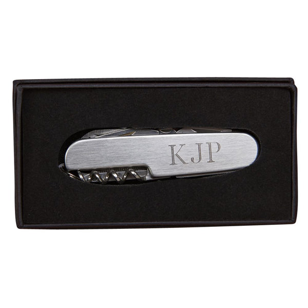 Personalized Pocket Knife, 9 tools